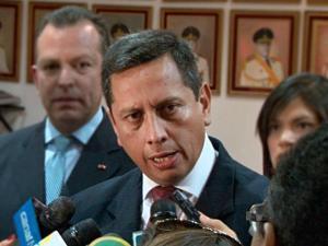 Viceministro de Defensa Iván Vega